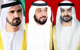 UAE leaders send congratulatory messages to King Hamad of Bahrain
