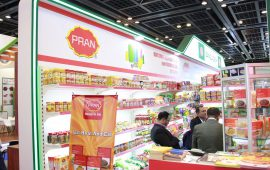 Pran Foods of Bangladesh shines at Gulffood forum